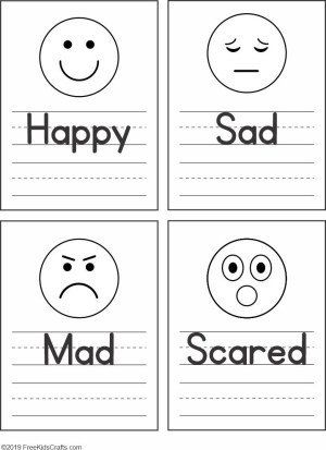 Feelings Worksheets For Kindergarten Feelings Faces Worksheet For Preschoolers In 2020 Emotions Preschool Preschool Worksheets Feelings Activities