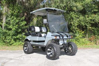 Lifted Club Car Ds Golf Cart With Custom Paint Golf Carts For