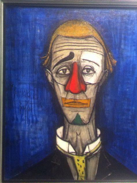 Musee Art Moderne Paris 29 12 2016 Tete De Clown 1955 Tete