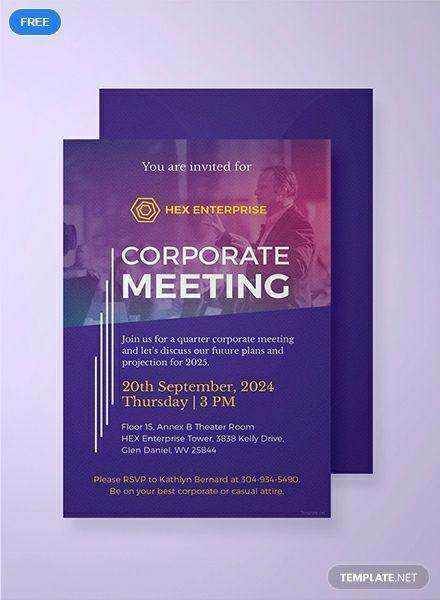 Business Event Invitation Templates Corporate Invitation Business Invitation Business Events Invitation