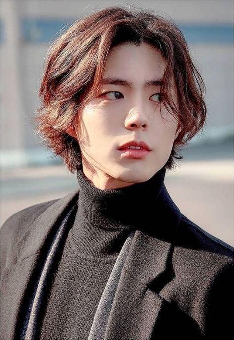 Tomboy Hairstyles, Office Hairstyles, Cool Hairstyles For Men, Haircuts For Men, Stylish Hairstyles, Classic Hairstyles, School Hairstyles, Korean Hairstyle Long, Korean Long Hair
