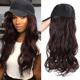 Cap Your Hairstyle Baseball Cap With Hairpiece Hair Pieces Hairstyle Wig Styles