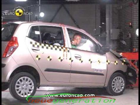 Euro Ncap Hyundai I10 2008 Crashtest Euro Vehicles Car