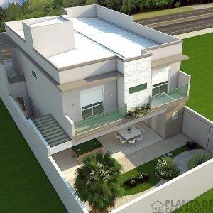 Projeto Casa Sobrado Cs 55 Planta De Casa Pronta