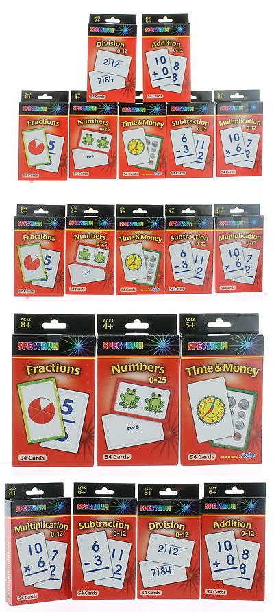 Multiple Subjects Mixed Lots 165961: Set Of 7 Packs Spectrum