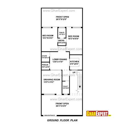 File 90617400004 15 X 60 House Plan Map Luxury House Plan For 20 Feet By 45 Feet Plot House Plan In 20 60 Plo Luxury House Plans Indian House Plans House Map