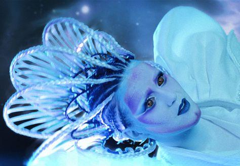 Katy Perry E T Music Video Hair Makeup Kabuki Fantasy
