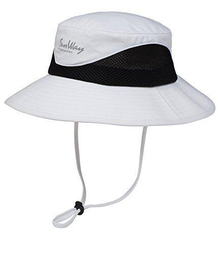 Sunway White Upf 50 Bucket Hats Wide Brim Sun Hat Uv Sun Protective Sun Hats For Women Wide Brim Sun Hat Mens Hats Fashion