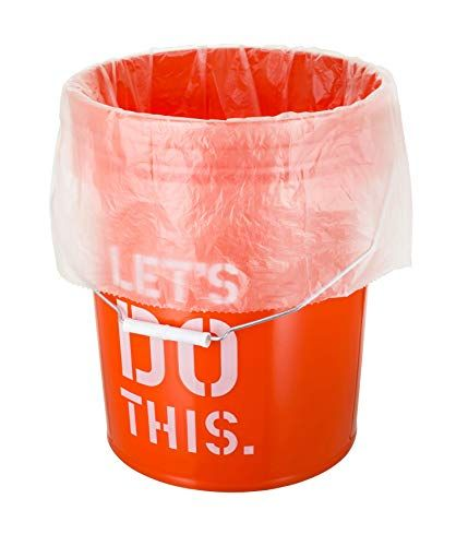 5 Gallon Bucket Liner Bags For Marinading And Brining Durable Food Grade Bpa Free 25 Roll In 2020 Food Storage Containers Food Grade 5 Gallon Buckets
