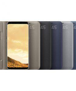 7669933 Bao Da Led View Cover Galaxy S8 Plus 01 Phụ Kiện Samsung Tai Nghe