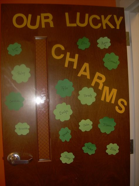 St. Patricks Day Door - Our Lucky Charms 2012