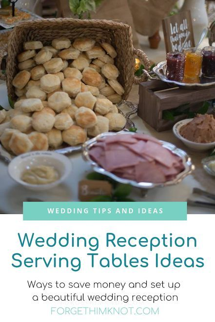 Wedding Reception Serving Tables Ideas Wedding Centerpieces
