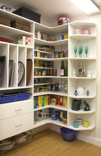 Corner Pantry Pantry Closet Design Pantry Shelving Units