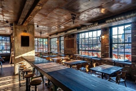 Grab a late-night drink at Boulton & Watt. The reclaimed wood and industrial interiors remind us of our HQ. #DateNight