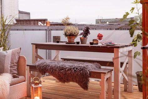 Disfrutar De La Terraza De Casa También En Invierno