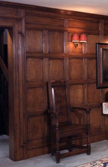 Raised Panel Oak Panels English Interior Design Wood Panel Walls