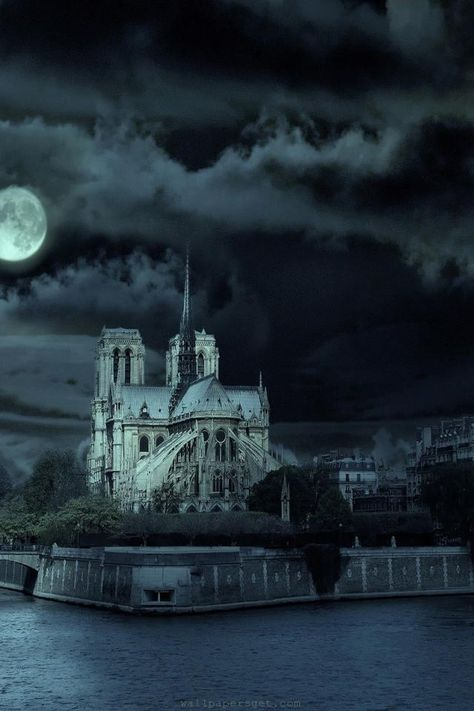 Notre Dame de Paris - I've been in the daylight, but would love to see it at night too.