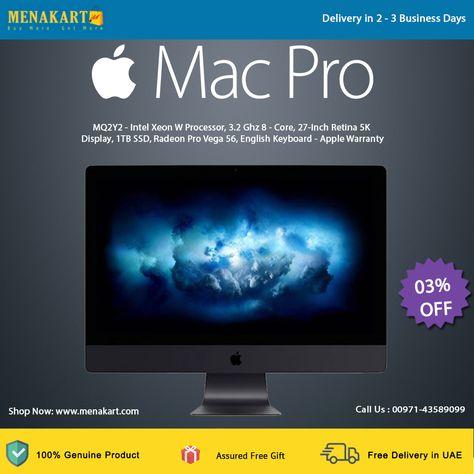 Apple iMac Pro MQ2Y2 - Intel Xeon W Processor, 3 2 Ghz 8