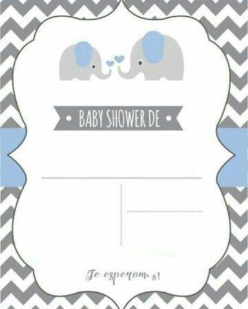 Geniales Modelos De Tarjetas Para Baby Shower 2019 Juegos