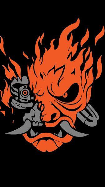 Cyberpunk 2077 Samurai Logo 8k 7680x4320 Wallpaper Cyberpunk 2077 Cyberpunk Cyberpunk Art