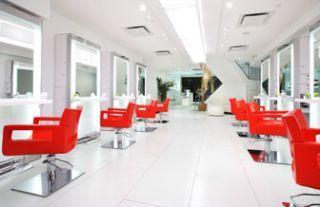 High Style Hair Salons In 2020 Hair Salon Decor Hair Salon Interior Salon Decor