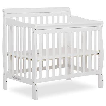 Mini Crib Mattress Vs Toddler Bed Mattress Size Google Search In 2020 Cribs For Small Spaces Mini Crib Cribs