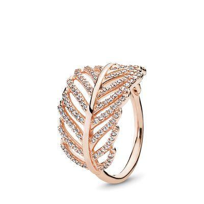 anello pandora piuma