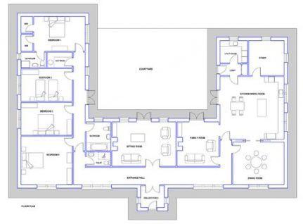 House Design Plans Ireland 63 Ideas Bungalow Floor Plans Irish House Plans Cottage Floor Plans