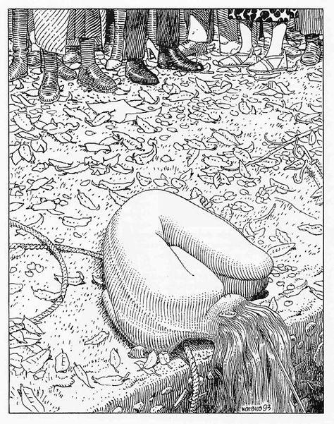 Cool Moebius drawing