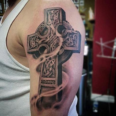 Pin On Celtic Crosses Objects