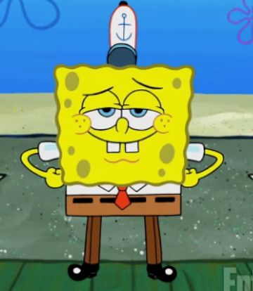 Spongebob Is Wearing Full-Length Pants For The First Time