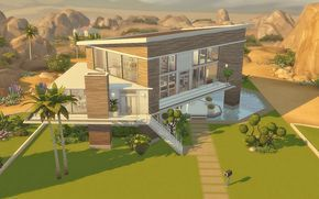 House 19 The Sims 4 Download Maison Sims Sims 4 Maison Maison Minecraft