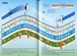 Imágen De Las Páginas Del Libro Calendario Lunar Paginas De Libros Cultivo De Plantas