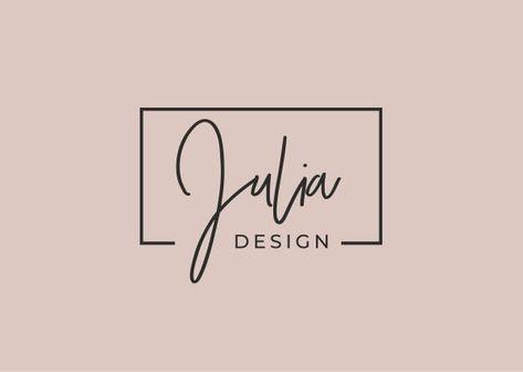 Premade Logo Design, Modern Logo, Logo for Bloggers, Creative Logo, Vector Logo Format, Black and Wh