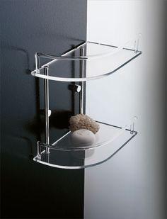 2583 C Angolare Doccia Corner Shower Shelf L 275 H 310 P 170 M