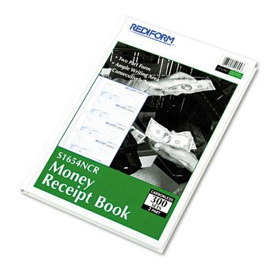 REDIFORM OFFICE PRODUCTS Hardcover Numbered Money Receipt Book - money receipt design