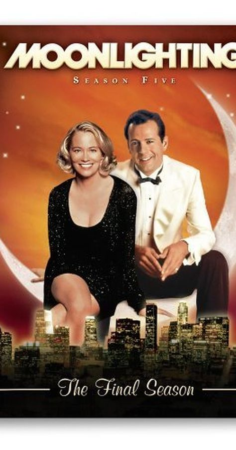 Moonlighting (TV Series - IMDb : Created by Glenn Gordon Caron. With Cybill Shepherd, Bruce Willis, Allyce Beasley, Curtis Armstrong. The quirky cases of a former model and a smart aleck detective who manage a private detective agency. 80 Tv Shows, Old Shows, Great Tv Shows, Best 80s Tv Shows, Childhood Tv Shows, My Childhood Memories, Moonlight Tv Series, Sean Leonard, Mejores Series Tv