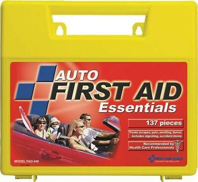 Details About First Aid Only Fao 340 First Aid Kit 138 Piece In 2020 With Images Emergency First Aid Kit
