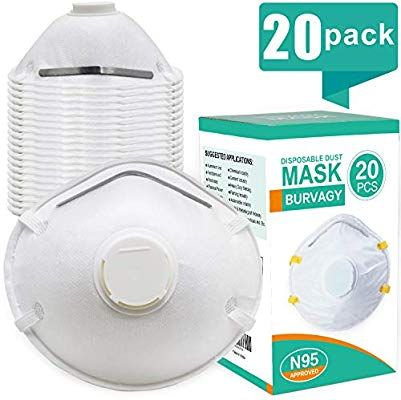 Mask Face N95 Masks Niosh Burvagy Certified-dust Respirator