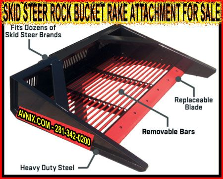 Wholesale Skid Steer Rock Bucket Sifter Attachment For Sale Manufacturer Direct Pricing Skid Steer Attachments Tractors Tractor Implements