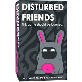 Disturbed Friends Disturbing Creative Games Question Cards