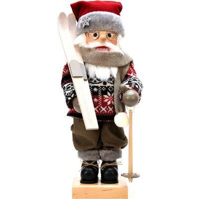 The Holiday Aisle Christian Ulbricht Skier Nutcracker