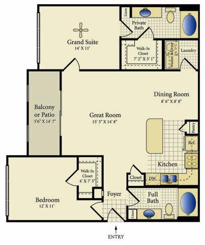Luxury 1 2 3 Bedroom Townhomes Apartments In Pearland Tx Barndominium Floor Plans Cottage Floor Plans Floor Plans