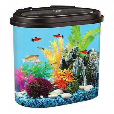 Hawkeye 17lstadium View Aquarium Kit With Led Light And Power Filter Brand New Aquarium Kit Aquarium Fish Tank