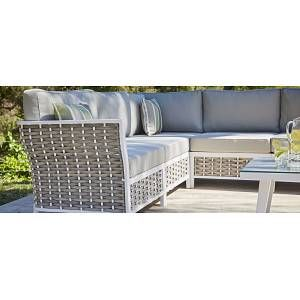 Moda Furnishings 4 Seat L Shape Modern Rattan Corner Sofa Table In 2020 Rattan Corner Sofa Outdoor Furniture Sets Corner Sofa Table