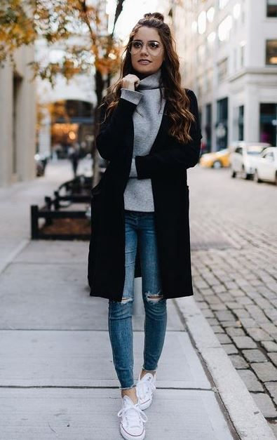 35 Ways to Wear Jeans This Winter 20182019 Awesome