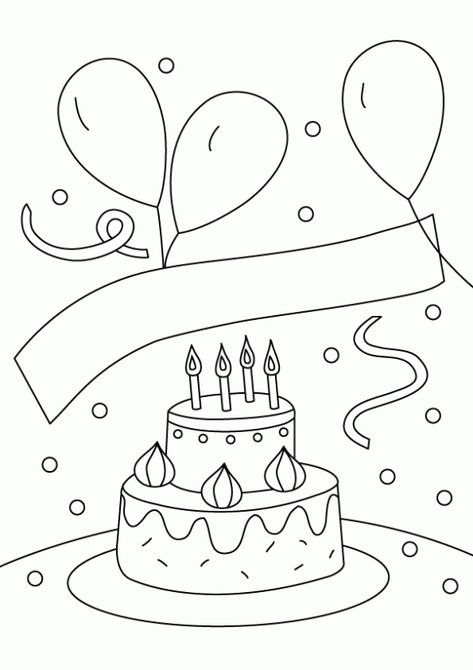 Как нарисовать открытку к дню рождения крестной