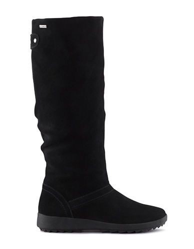 Waterproof Insulated Suede Tall Boots Hudson S Bay Boots Riding Boots Winter Boots