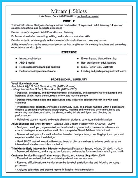 Nice Brilliant Corporate Trainer Resume Samples To Get Job   Picker Packer  Resume  Pick Packer Resume