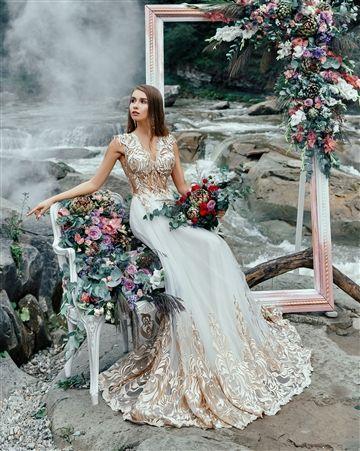 Iris Custom Dream Gowns Wedding Dresses Bridal Gowns Custom Wedding Dresses Lace Back Weddiing Dresses A Line Wedding Dresses Gold Lace Wedding Dr Wedding Dresses